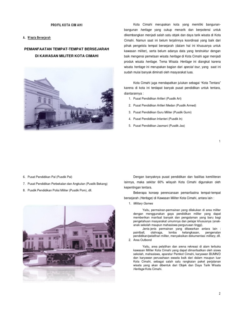 Profil Kota Cimahi Pdf