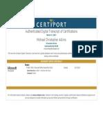 michael adkins powerpoint certificate