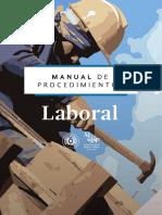 Manual de Procedimiento - Laboral