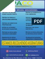 Panfleto Arte Atualizada