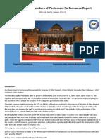 Uttar Pradesh Members of Parliament Performance Report