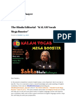 Vocublalry English