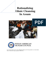Rationalizing Ethnic Cleansing In Assam
