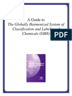 A Guide to the Globally Harmonized System of Classification and Labeling of Chemicals (GHS)