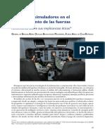10-06-15 Empleo de Simuladores en El Entrenamiento de Las Fuerzas