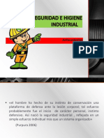 Antecedentes de La Seguridad e Higiene Industrial