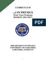 Scheme of Study BS 2013(120613)-Last