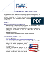 The Fulbright Student Award_flyer A5
