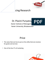 S 7-Pricing Research-Dr Plavini