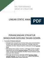 2 - Linear Static Analysis (LSA)