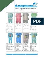 Baju Tidur Wanita Grosir Jual Baju Anak Model Terbaru 2010 Katalog 13 Juli
