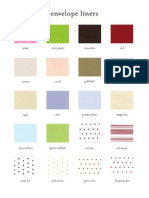 Page Stationery Liners