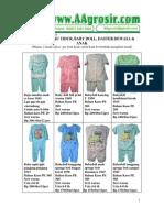 Baju Tidur Wanita Grosir Jual Baju Anak Model Terbaru 2010 Aagrosir.com Katalog 13 Juli