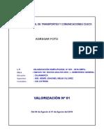 Valorizacion Modelo
