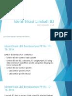 3 - Identifikasi Limbah B3.pptx