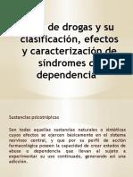 Tipo de Drogas y Su Clasificación, Efectos
