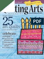 Quilting Arts - January 2016 USA