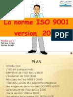 Exposé Iso 9001 v 2000