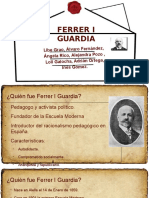 PowerPoint de Ferrer i Guardia