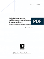 Guerrero Andres_Administracion de Poblaciones,Ventriloquia y Transescritura_cap4 y 5