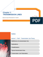 13051 Transmission Line Theory