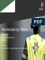 7 Standardisering i Statoil - Klemp