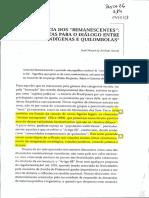 ARRUTI, José Maurício Andion. a Emergência Dos Remanescentes Notas Para o Diálogo Entre Indígenas e Quilombolas