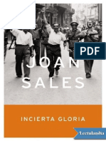 Joan Sales. Incierta Gloria