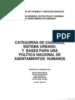 Politicas de Asentamientos Humanos