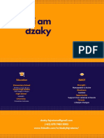 CV Muhammad Dzaky Fajratama