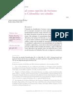 Turismo termal como opcion de turismo de bienestar en Colombia