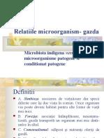 Relatiile Microorganism Gazda