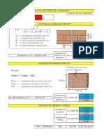 Plantilla Excel Para El Calculo de Ladrillo y MorteroCG