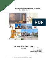 Factibilidad Sanitaria ene2015