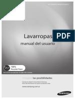 Lavarropas Samsung WF1904WPEU-XBG 03177C 0