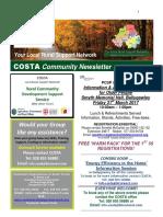 COSTA Newsletter - Mar 2017