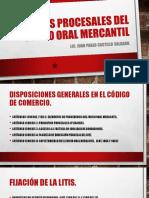 Etapas Procesales Del Juicio Oral Mercantil