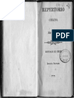 Censo o Repertorio Chile - 1835 - 117p