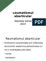 Reumatismul Abarticular 2017