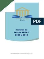 Caderno_ANPAD-2009_a_2012