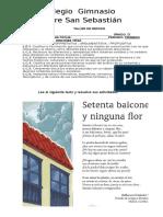 TALLER DE REPASO I  7° 2017