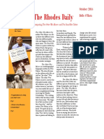 wes moore news letter