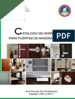 Catalogo de Herrajes PDF