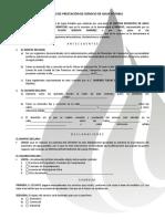 Contrato de Adhesión (Suministro de Agua Potable)