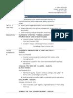 melinda siriphol resume