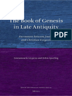 Grypeou & Spurling - The Book of Genesis in Late Antiquity; Encounters Between Jewish and Christian Exegesis (2013)