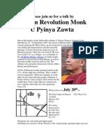 Saffron Monk Flier