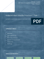 independent media practice
