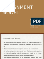 Assignment Model PPT