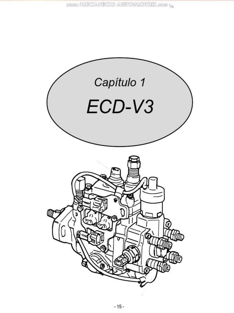 Manual Bomba Ecd v3 Denso Sistemas Control Inyeccion